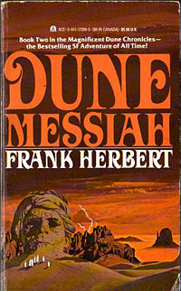 Dune Messiah Book Cover